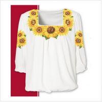 Заготовка женской сорочки-вышиванки (размер 42-56) (СЖТ-002)