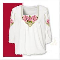 Заготовка женской сорочки-вышиванки (размер 42-56) (СЖТ-003)