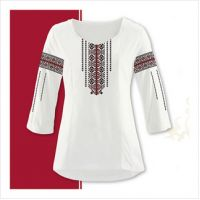 Заготовка женской сорочки-вышиванки (размер 42-56) (СЖТ-005)