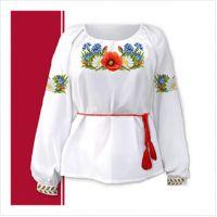 Заготовка женской сорочки-вышиванки (размер 42-56) (СЖТ-007)