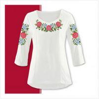 Заготовка женской сорочки-вышиванки (размер 42-56) (СЖТ-008)