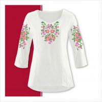 Заготовка женской сорочки-вышиванки (размер 42-56) (СЖТ-009)
