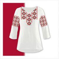 Заготовка женской сорочки-вышиванки (размер 42-56) (СЖТ-010)