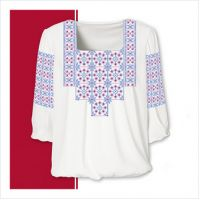 Заготовка женской сорочки-вышиванки (размер 42-56) (СЖТ-011)