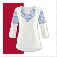 Заготовка женской сорочки-вышиванки (размер 42-56) (СЖТ-012)