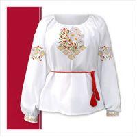 Заготовка женской сорочки-вышиванки (размер 42-56) (СЖТ-013)