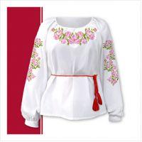 Заготовка женской сорочки-вышиванки (размер 42-56) (СЖТ-015)