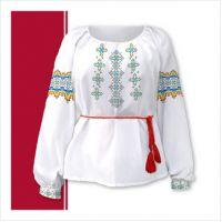 Заготовка женской сорочки-вышиванки (размер 42-56) (СЖТ-016)