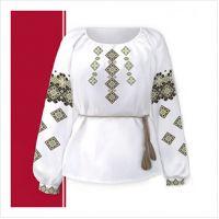 Заготовка женской сорочки-вышиванки (размер 42-56) (СЖТ-017)