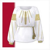 Заготовки женской сорочки-вышиванки (размер 42-56) (СЖТ-018)