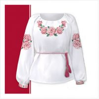 Заготовка женской сорочки-вышиванки (размер 42-56) (СЖТ-019)