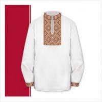 Заготовка сорочки-вышиванки для мальчика (размер 30-34) (СХТ2-001)