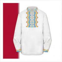 Заготовка сорочки-вышиванки для мальчика (размер 30-34) (СХТ2-002)