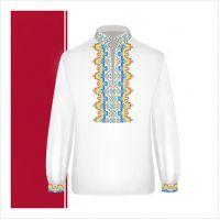 Заготовка сорочки-вышиванки для мальчика (размер 36-44) (СХТ3-002)
