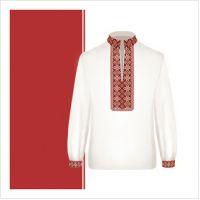 Заготовка сорочки-вышиванки для мальчика (размер 36-44) (СХТ3-003)