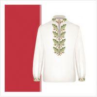Заготовка сорочки-вышиванки для мальчика (размер 36-44) (СХТ3-004)