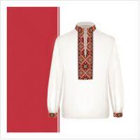 Заготовка сорочки-вышиванки для мальчика (размер 36-44) (СХТ3-005)