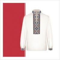 Заготовка сорочки-вышиванки для мальчика (размер 36-44) (СХТ3-006)